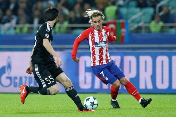 Atletico Madrid – Sevilla (17.01.2018)