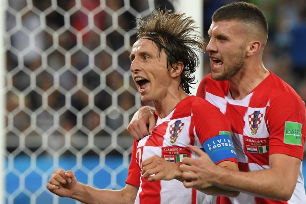 Croatia vs Denmark World Cup 01.07.2018