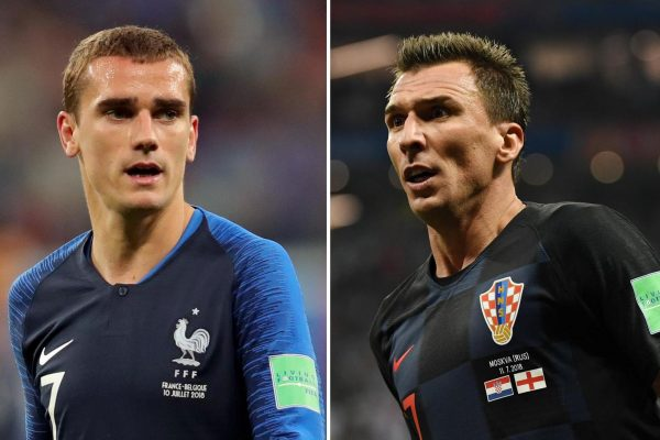 France vs Croatia World Cup 15/07/