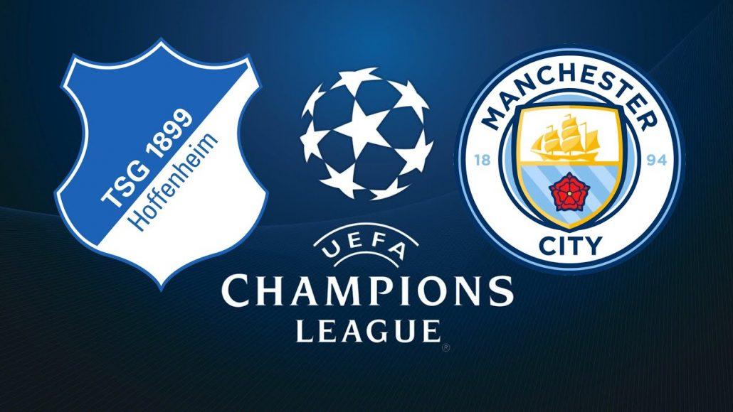 Manchester City vs Hoffenheim UEFA Champions League 12/12