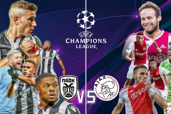 PAOK vs Ajax Free Betting Tips 06.08.2019
