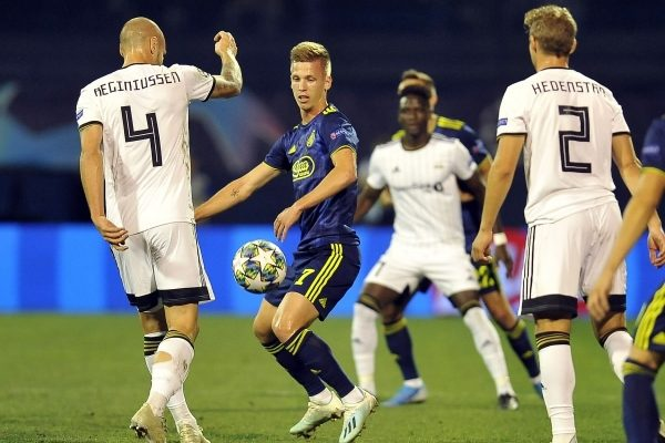 Rosenborg vs Dinamo Zagreb Champions League 27.08.2019