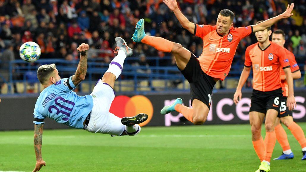 Atalanta vs Sahtior Donetsk Champions League